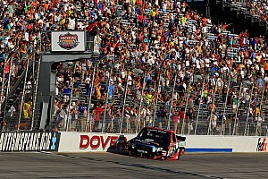Busch brings battered Tundra home 10th in wild 'Dega finish