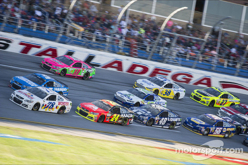 Talladega is not worthy of a Chase race