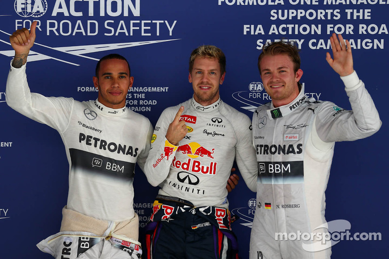 Vettel grabs third consecutive Indian Grand Prix pole