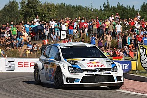WRC Leg report Day one in Spain: first and second place for Volkswagen