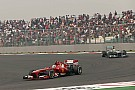12 points by Felipe for Scudria in Indian GP