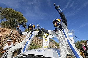 WRC Race report Supreme Ogier reigns in Rally de Espana