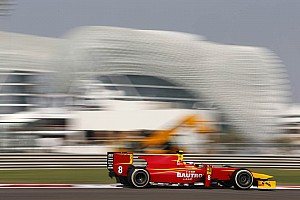 GP2 Qualifying report Fabio Leimer and Racing Engineering qualify 4th today at Abu Dhabi