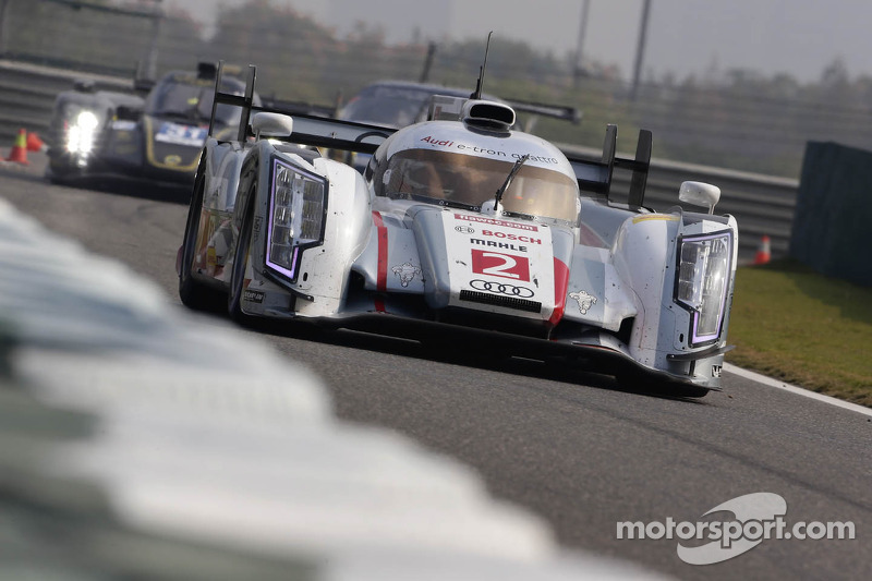 6 Hours of Shanghai FP1: Audi lead the way