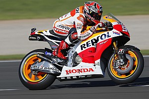 MotoGP Qualifying report Bridgestone: Marquez storms to pole position at Valencia with new circuit record