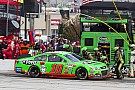 Danica Patrick, goodbye yellow stripes