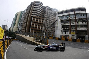 F3 Qualifying report Rosenqvist on provisional pole for Macau