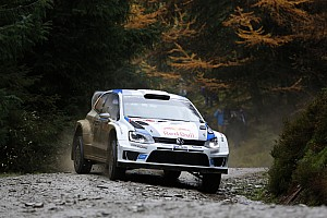 WRC Race report Night owls – Volkswagen lead from the off in Wales
