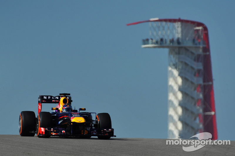 Practice Two: Vettel leads Red Bull one-two in Austin