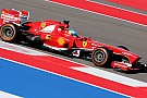 Ferrari: An unusual Friday in Austin