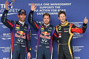 Formula 1 Race report Vettel pinches United States Grand Prix pole from Webber