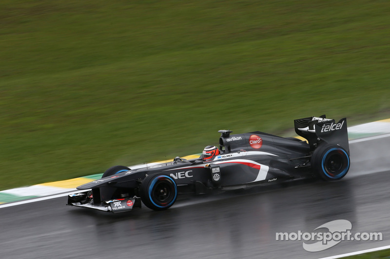 After a difficult qualifying, Sauber hopes for a dry race tomorrow at Interlagos
