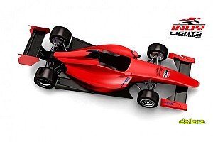 Indy Lights Breaking news Andersen Promotions unveils Dallara IL-15 car renderings