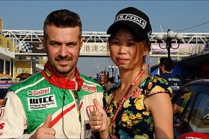 WTCC Breaking news Tiago Monteiro joins Honda Thanks Day