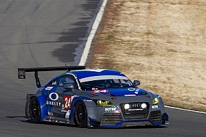 Endurance Race report Rotek Racing Audi leads at 18 at USAF 25 Hours of Thunderhill