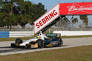 IndyCar Testing report Mike Conway completes successful two-day Sebring test in his first ECR Chevrolet drive