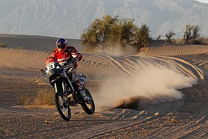 Dakar Stage report Israel Esquerre prepares for Dakar attack