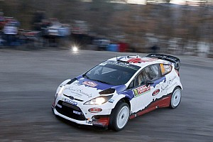 WRC Leg report Bouffier leads after tough day at Rallye Monte Carlo