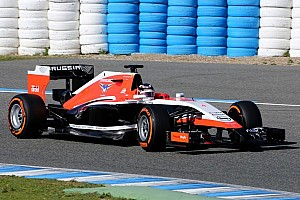 Marussia MR03 uncovered