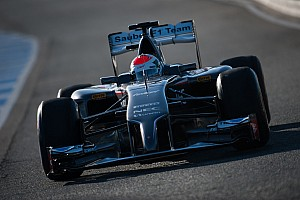Sauber's Sutil completed 69 laps at the end of the four day test in Jerez