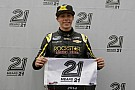 Teenager Dylan Kwasniewski takes Daytona pole under new qualifying format debut
