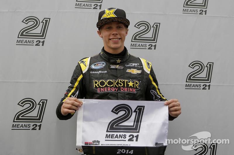 Teenager Dylan Kwasniewski takes Daytona pole under new qualifying format debut