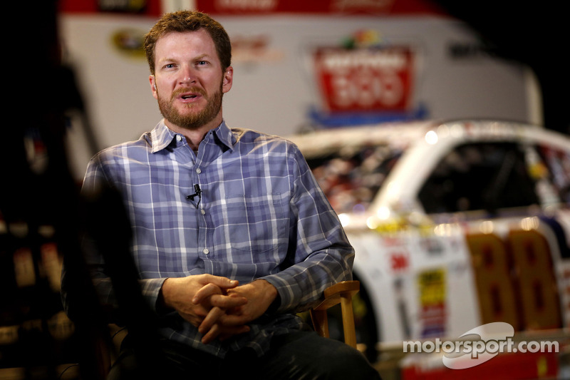 Earnhardt was determined to seize the moment in Daytona 500