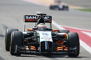 Sahara Force India's Perez remained at the top of the timesheets on day 2 at Bahrain
