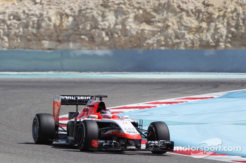 Marussia's Jules Bianchi completes test in a positive way at Bahrain