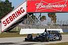 Rahal completed his first day of testing in 2014 at Sebring Raceway