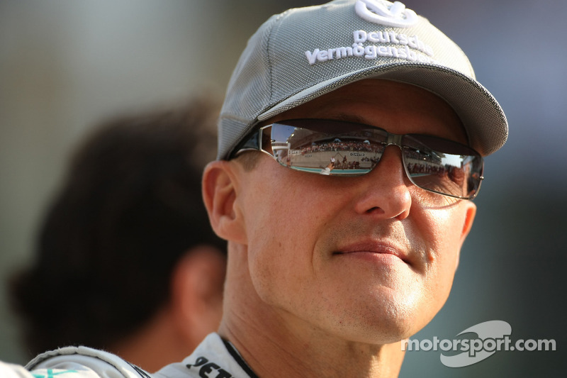 'Encouraging signs' in Schumacher recovery - manager