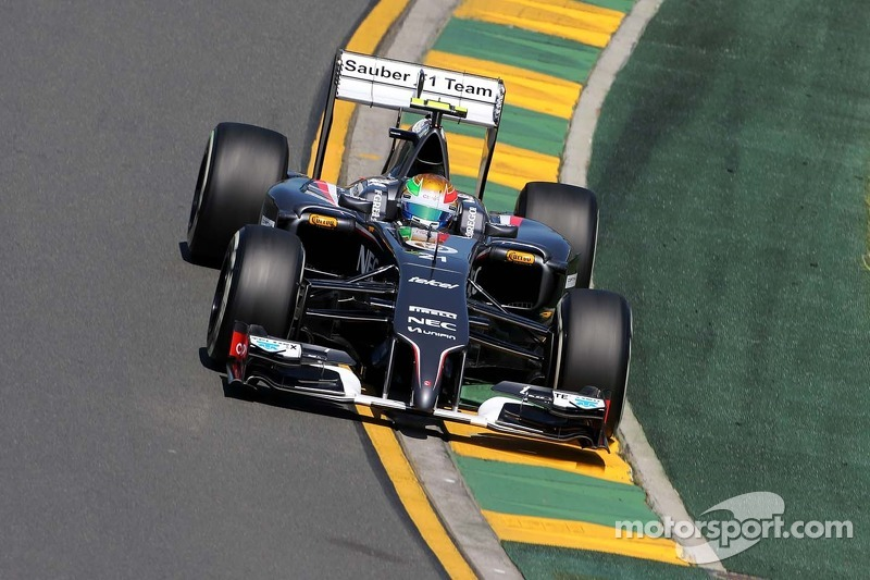 Tough day for Sauber F1 Team at Albert Park