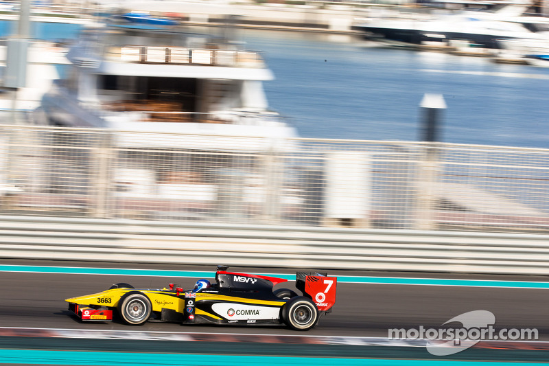 Jolyon Palmer goes fastest in pre-season testing in Abu Dhabi