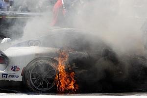 IMSA Race report Sebring update: Viper on fire