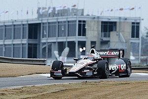 IndyCar Testing report Team Penske leads shortened first day of testing at Barber