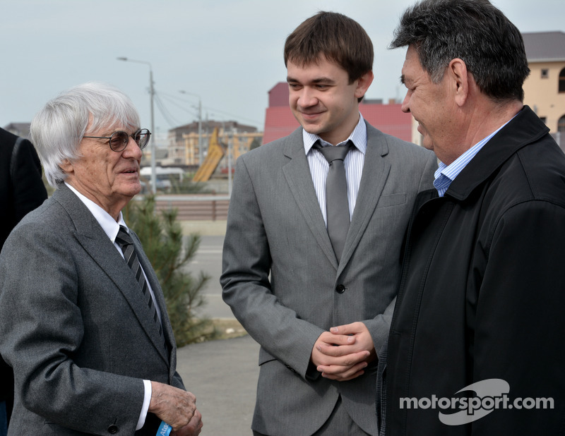 Press announcement of the 2014 Formula 1 Russian GP promoter