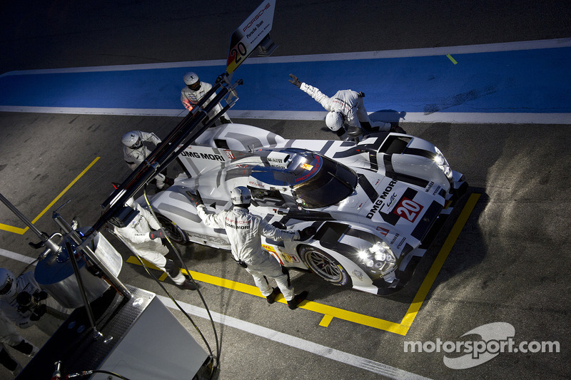 Season preparations in final stages: Porsche 919 Hybrid in Paul Ricard