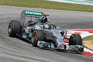 Rosberg, Mercedes quick in blazing Friday practice