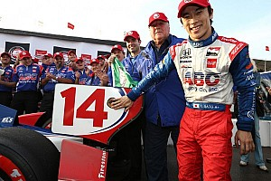 IndyCar Qualifying report Sato takes IndyCar season opening pole