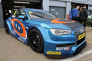 Rotek Racing moves forwards ahead of Brands Hatch's BTCC opener