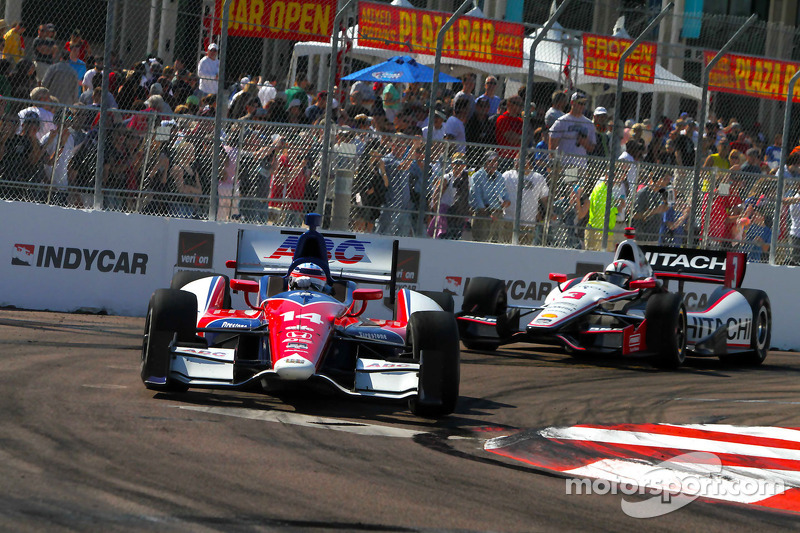 St. Petersburg: A disappointing finish for Takuma Sato