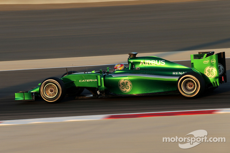 Caterham not just after 'quick money' - Frijns