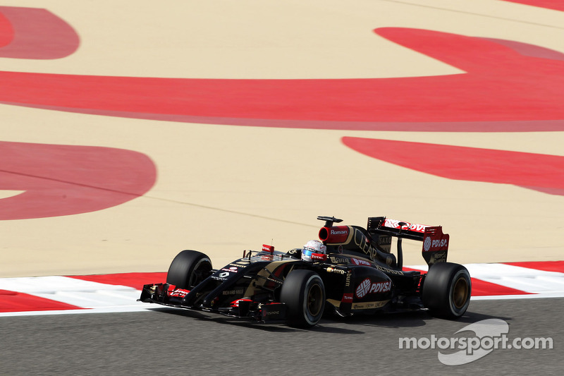 Lotus on Friday practice for the Bahrain GP: A lot of data to digest