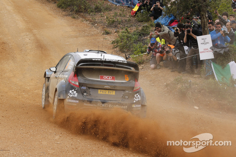 Hirvonen still in the fight in Portugal