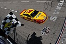 Logano overcomes late-race caution to win at Texas