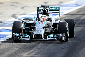 Formula 1 Testing report Mercedes AMG testing report - day two