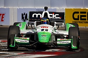 KVSH Racing driver Sebastien Bourdais qualifies 3rd for Long Beach race