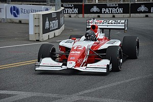Zach Veach remains tied for first in the championship after a second-place finish in Long Beach
