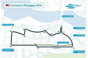 Formula E reveals circuit design for Putrajaya ePrix