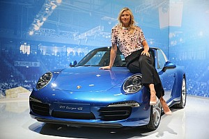 "Maria Sharapova reveals ""Speedy by Sugarpova"""